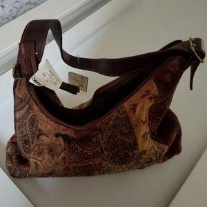 Fossil Floral Handbag